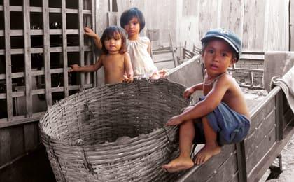Vietnamese children on the streets